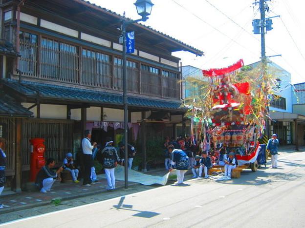 祭りと丸ポスト 新潟県 001