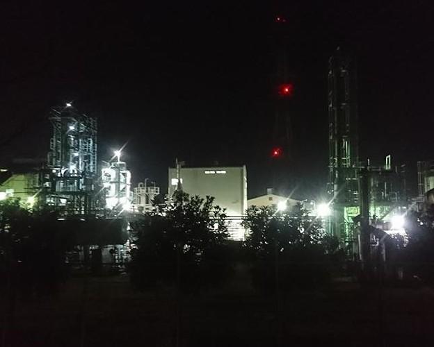 平塚工場夜景