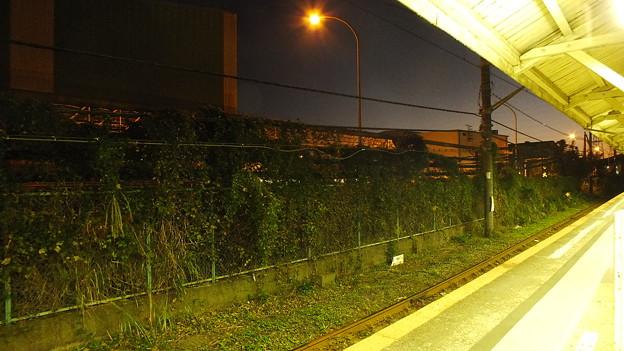JR鶴見線浜川崎駅構内から見た夕景3