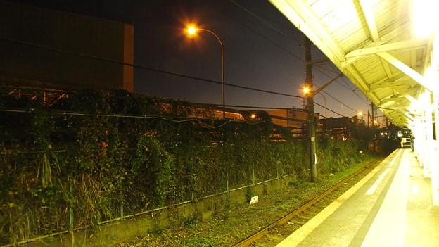 JR鶴見線浜川崎駅構内から見た夕景4