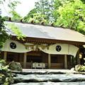 椿大神社の拝殿