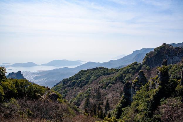 寒霞渓から見下ろす