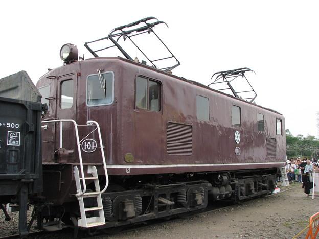 秩父鉄道デキ101 2009-5-16