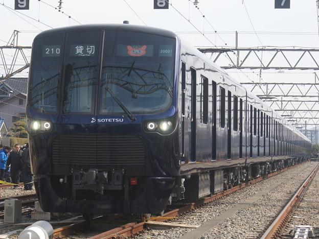 相模鉄道20101F@クハ20001 2018-2-10/2