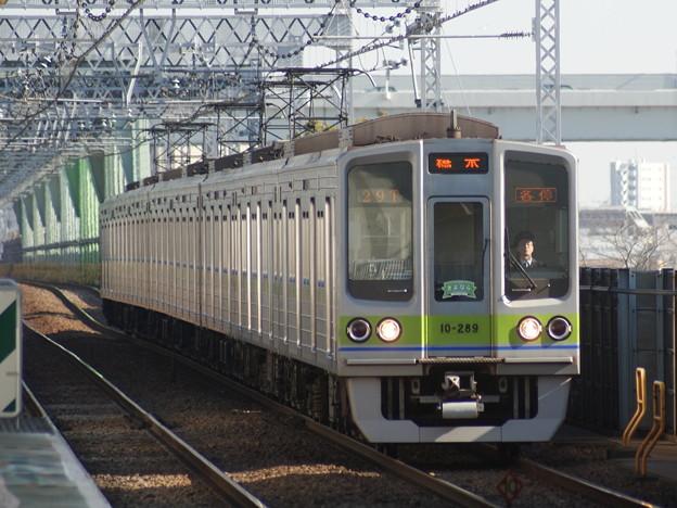 都営新宿線10-280F@C#10-289 2018-2-4