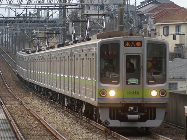都営新宿線10-280F@C#10-280 2018-2-11/2