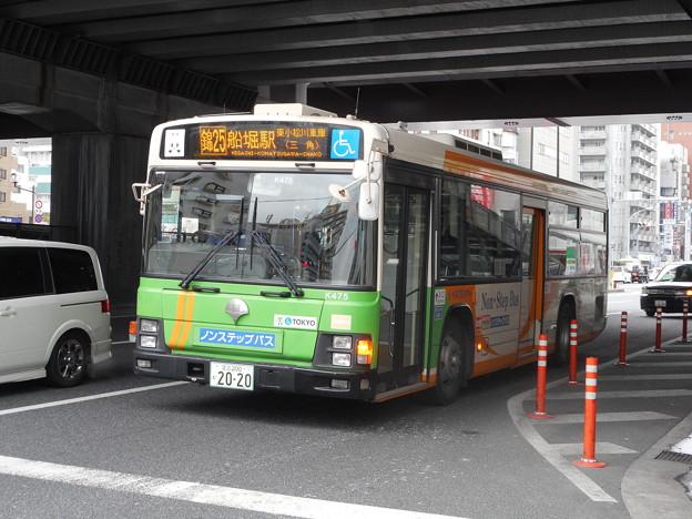 写真: 都営バスV-K475 2018-1-28