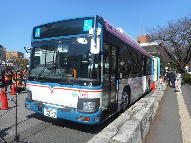 京成バスC#8153「リカちゃんバス」 2018-3-17/1