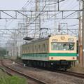Photos: #2987 南武支線クモハ100-186+クモハ101-188 2002-5-12