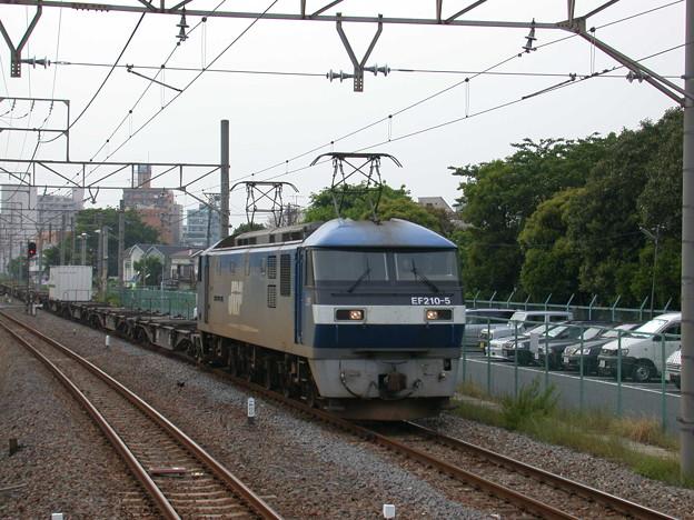 Photos: #2988 EF210-5+コキ 2002-5-12