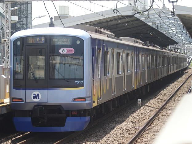 #3060 横浜高速鉄道Y517F(旧東急5156F) 2018-5-6