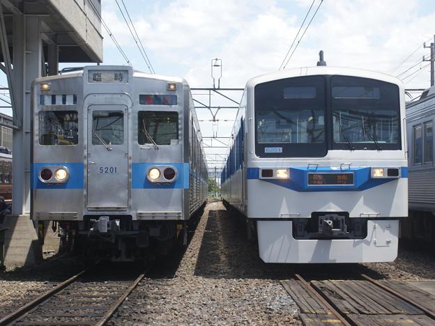 写真: #3104 秩父鉄道クハ5201・クハ6201 2018-5-19