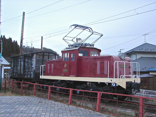 #3198 栗原電鉄ED202+ワフ71 2007-1-1