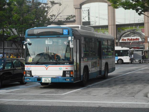 写真: #3201 京成バスC#8136 2018-6-22