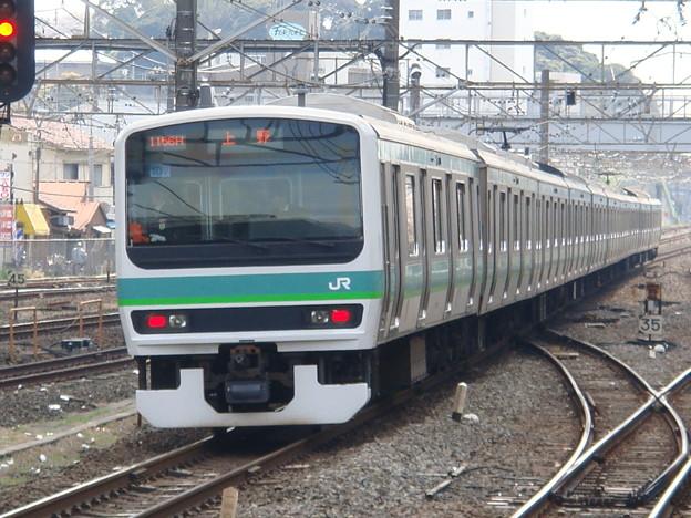 #3207 E231系 東マト107F 2007-4-7