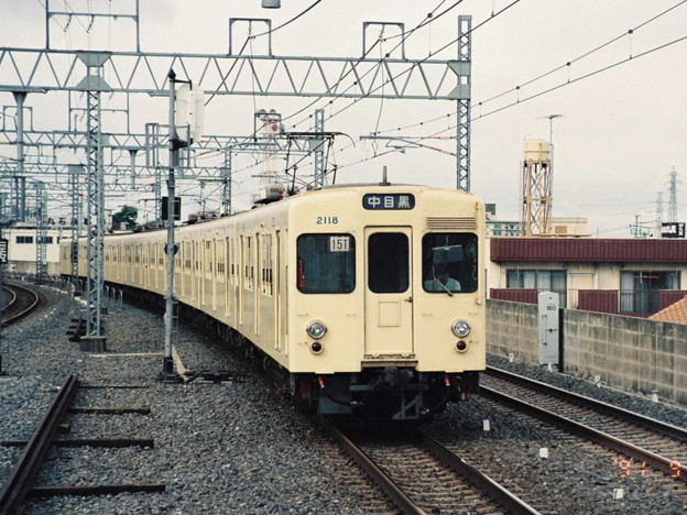 #3245 東武鉄道2118F 1991-9-8