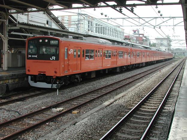 #3302 201系 クハ201-144F 2001-8-4