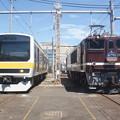 Photos: #3360 209系八ミツC508F・EF64 1052 2018-8-25
