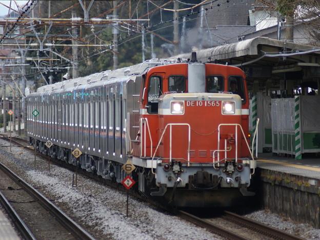 #3373 DE10 1565+京成電鉄3030F甲種輸送 2015-1-28
