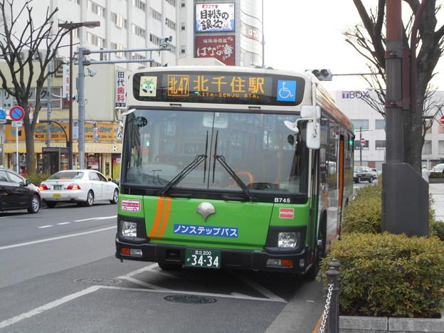 #3434 都営バスH-B745 2018-1-31