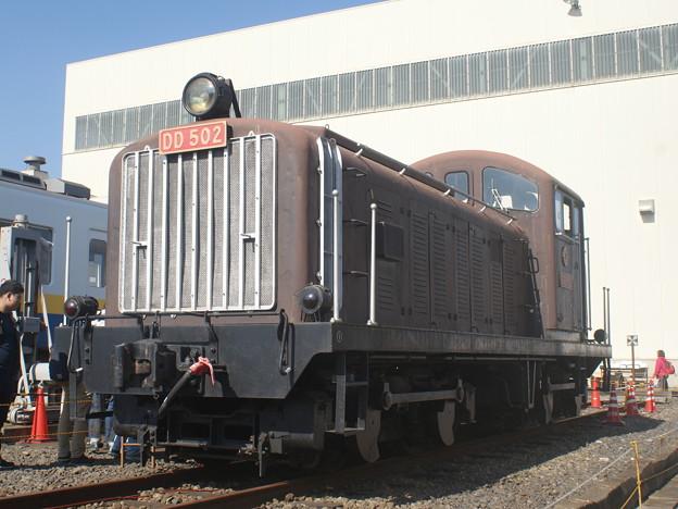 #3570 関東鉄道DD502 2018-11-3