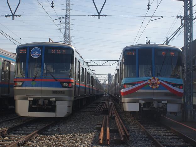 #3622 三田線6307F・6301F 2018-11-17