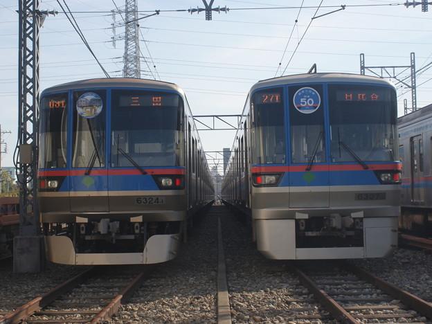 #3623 三田線6324F・6307F 2018-11-17
