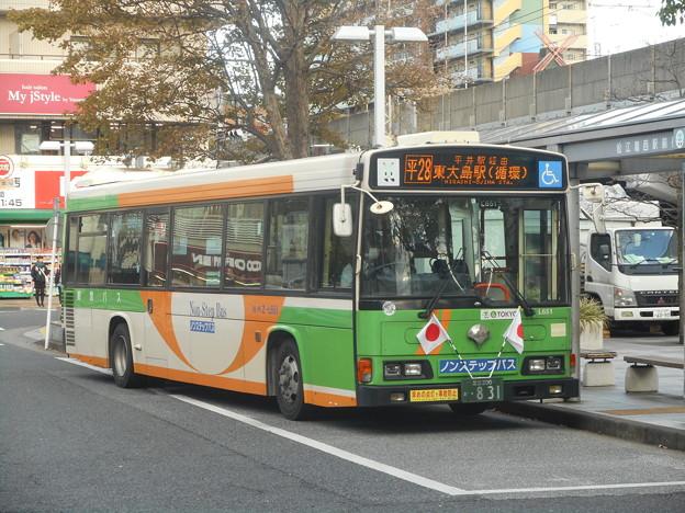 #3639 都営バスZ-L651 2018-11-23