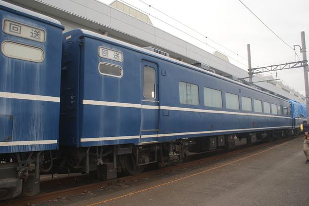 #3685 旧JR北海道オハ14 504 2018-12-2