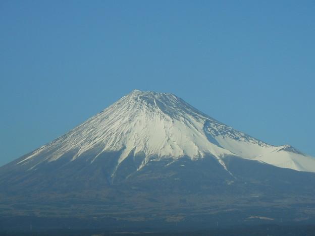 #3776 東海道新幹線の車窓から眺めた富士山 2016-1-27
