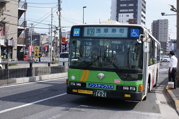 #3955 都営バスZ-H169 2008-4-5