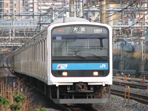 #4272 京浜東北線209系 宮ウラ59F 2009-4-16