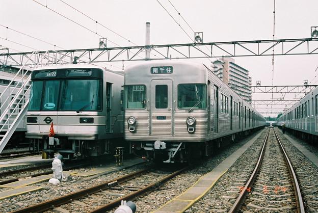 #5260 日比谷線03-122F・3067F 1994-6-24