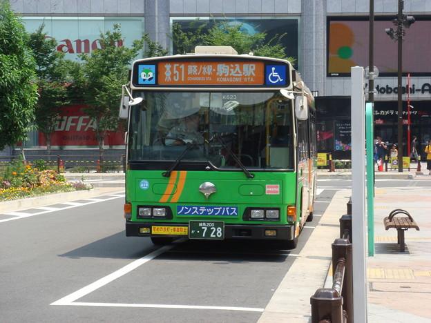 #5276 都営バスP-K623 2007-8-16