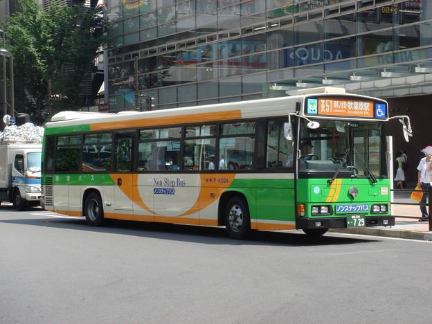 Photos: #5292 都営バスP-K624 2007-8-21