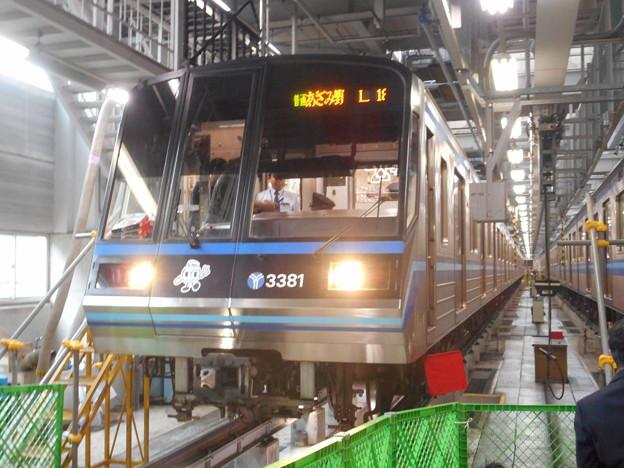 #5368 横浜市営地下鉄C#3381@3381F 2017-10-28
