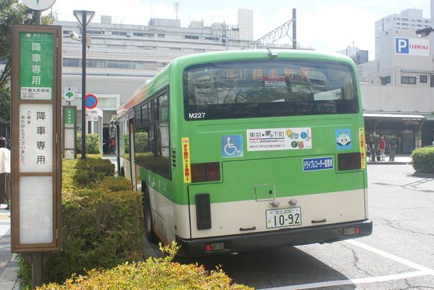 #5489 都営バスK-M227 2019‐9-23