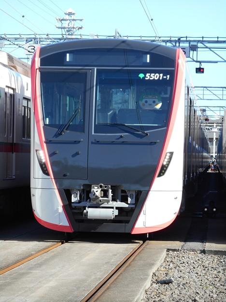 #5500 浅草線5500形 5501F 2017-12-9