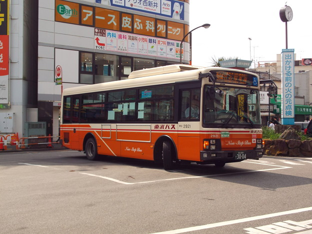 #5527 東武バスC#2921 2019-9-1