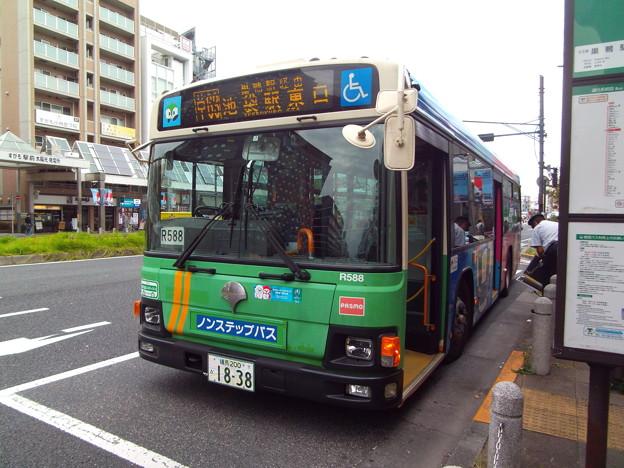 #5711 都営バスP-R588 2019-10-3