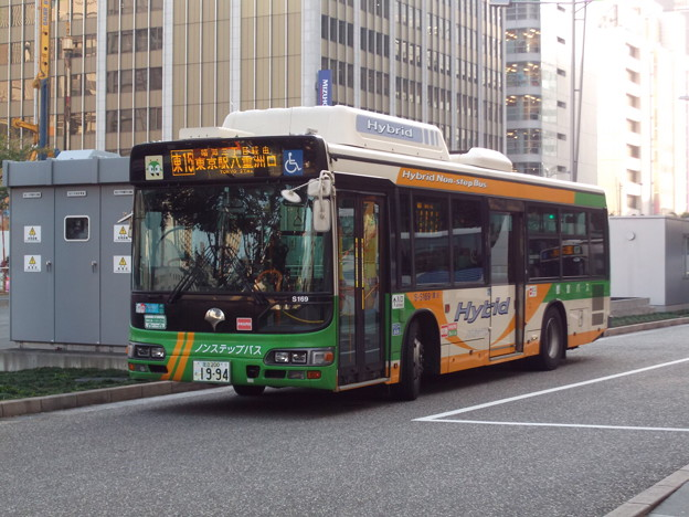 Photos: #5748 都営バスS-S169 2019-11-1