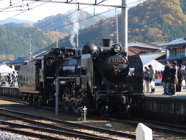 #5800 秩父鉄道C58 363 2006-11-25