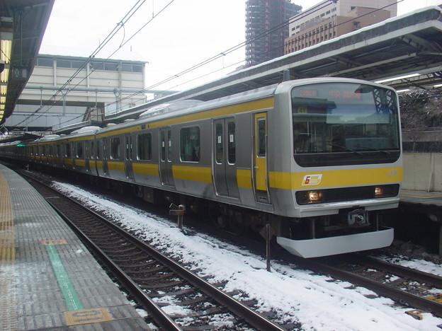 #6076 総武緩行線E231系 八ミツB41F 2006-1-22
