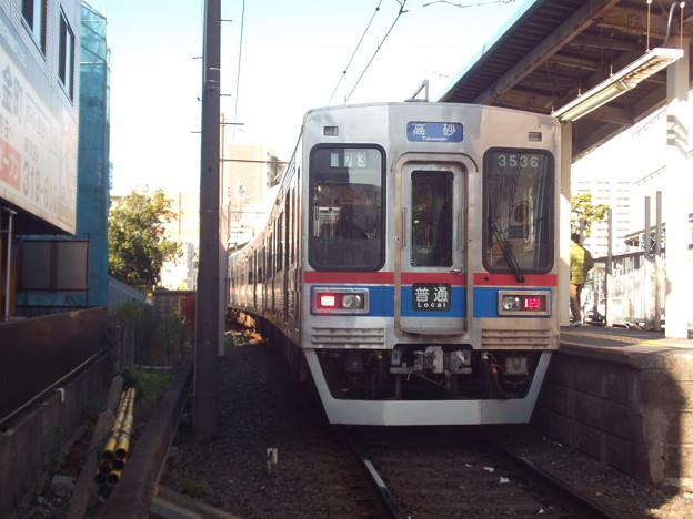 #6133 京成電鉄3536F 2020-1-3