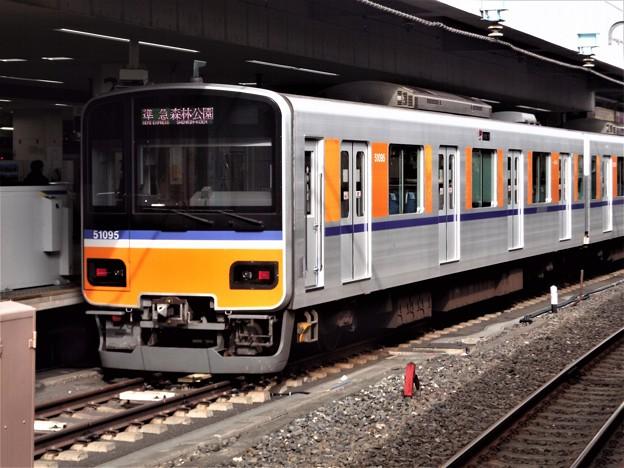 #6134 東武鉄道クハ51095 2020-1-12