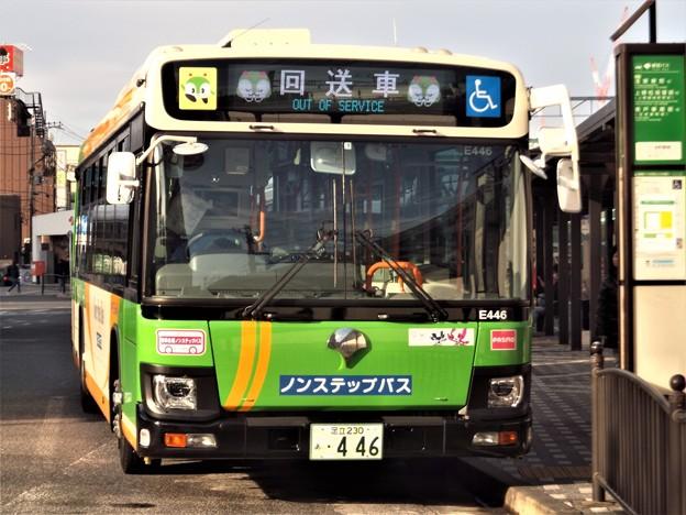 #6136 都営バスZ-E446 2020-1-12