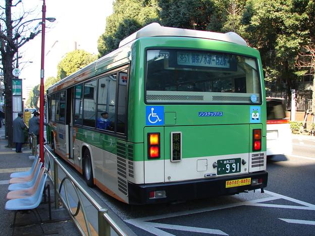 Photos: #6240 都営バスP-L775 2007-1-10