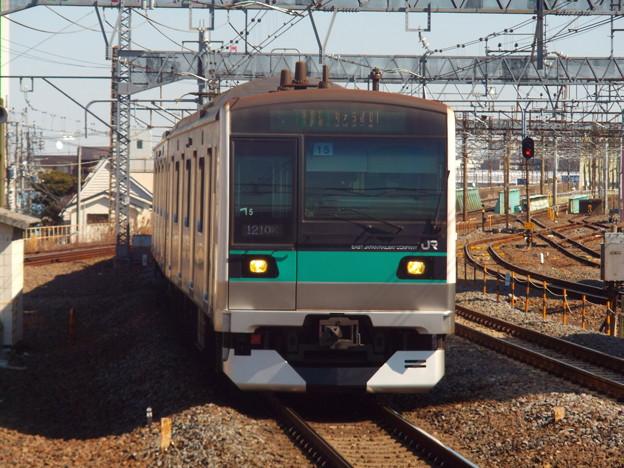 #6408 常磐緩行線E233系 東マト15F 2020-2-28
