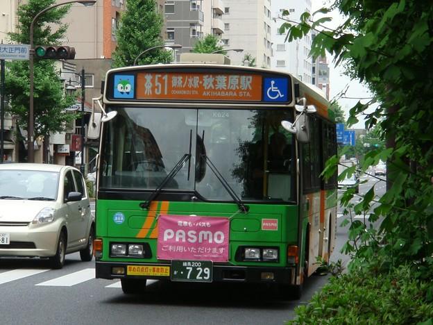 #6649 都営バスP-K624 2007-6-14