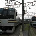 #6871 E217系の並び 2007-7-29